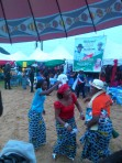 Estatic ladies celebrating the announcement of the Thirty Million Naira loan scheme for two RDA`S.
