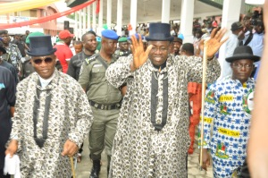 Governor Dickson on Thank You Tour to Nembe LGA